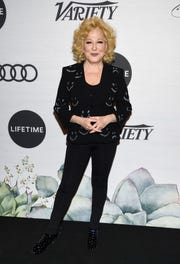 Honoree Bette Midler attends Variety's Power of Women: New York presented by Lifetime at Cipriani 42nd Street on Friday, April 5, 2019, in New York. (Photo by Evan Agostini/Invision/AP) ORG XMIT: NYEA134