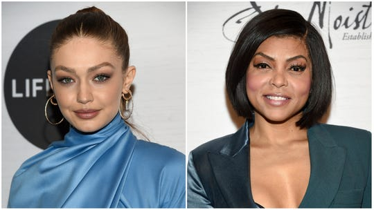 Gigi Hadid and Taraji P. Henson were two of the honorees at Variety's Power of Women event in New York City on April 5, 2019.