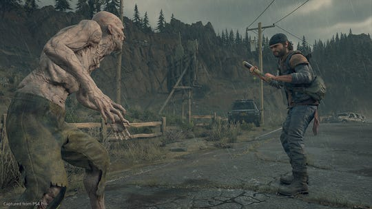 The hotly-anticipated, post-apocalyptic PlayStation exclusive, 'Days Gone,' has you fighting against zombie-like Freakers.