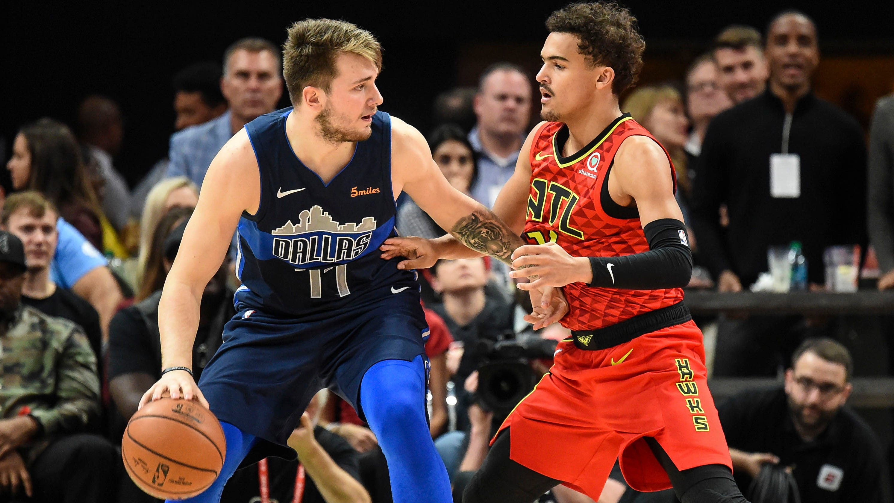 7b2d03d466a6 NBA Rookie of Year  How Trae Young could steal honor from Luka Doncic