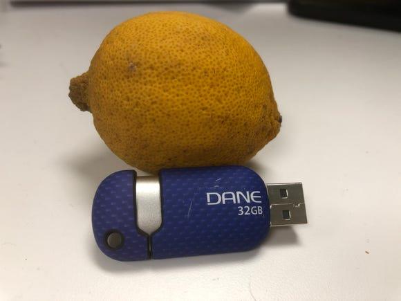 A USB drive could be a lemon