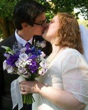Zack and Raychel Budryk's wedding in Richmond, Va., in September  2012.