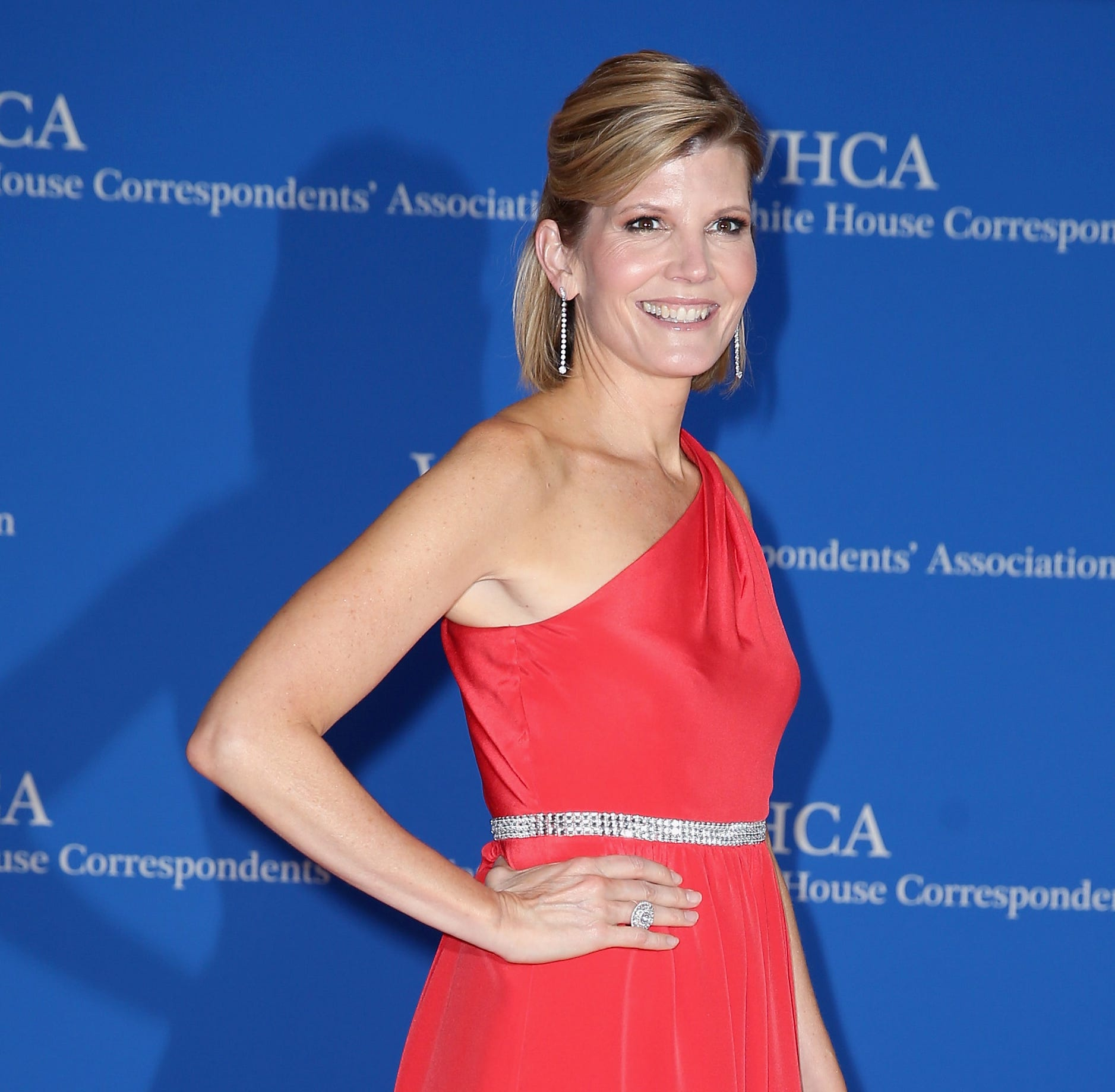 Journalist Kate Snow attends the 2017 White House Correspondents' Association Dinner at Washington Hilton on April 29, 2017 in Washington, DC.