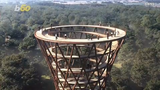 Your childhood tree fort has nothing on this! This 148-foot-tall spiral observation tower is pretty impressive.