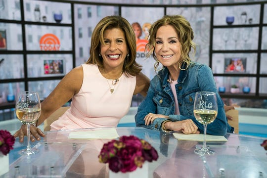 Hoda Kotb and Kathie Lee Gifford photographed on April 3, 2019.