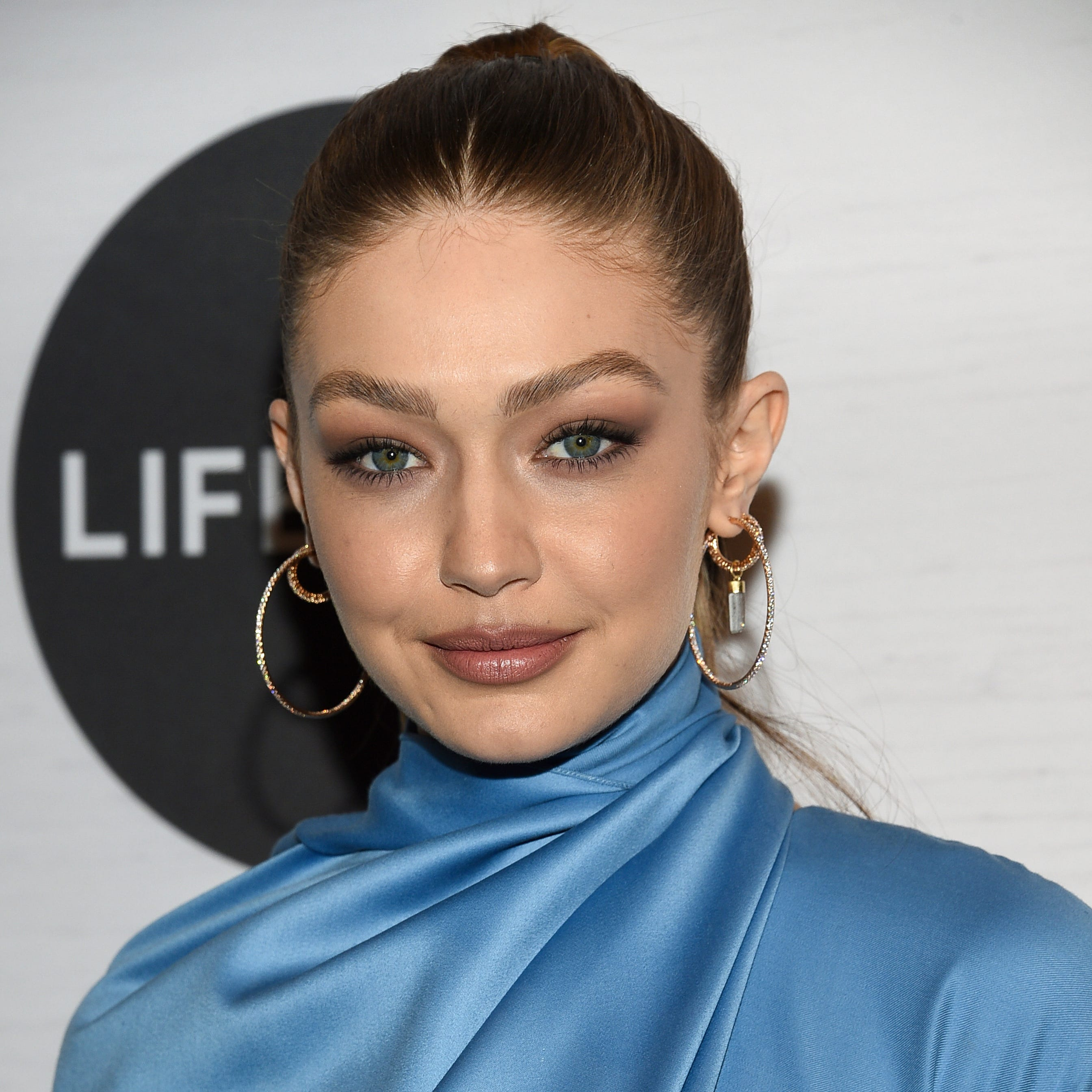 Honoree Gigi Hadid attends Variety's Power of Women: New York presented by Lifetime at Cipriani 42nd Street on Friday, April 5, 2019, in New York. (Photo by Evan Agostini/Invision/AP) ORG XMIT: NYEA125