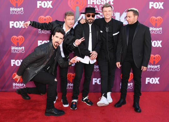 The Backstreet Boys are still touring together.
