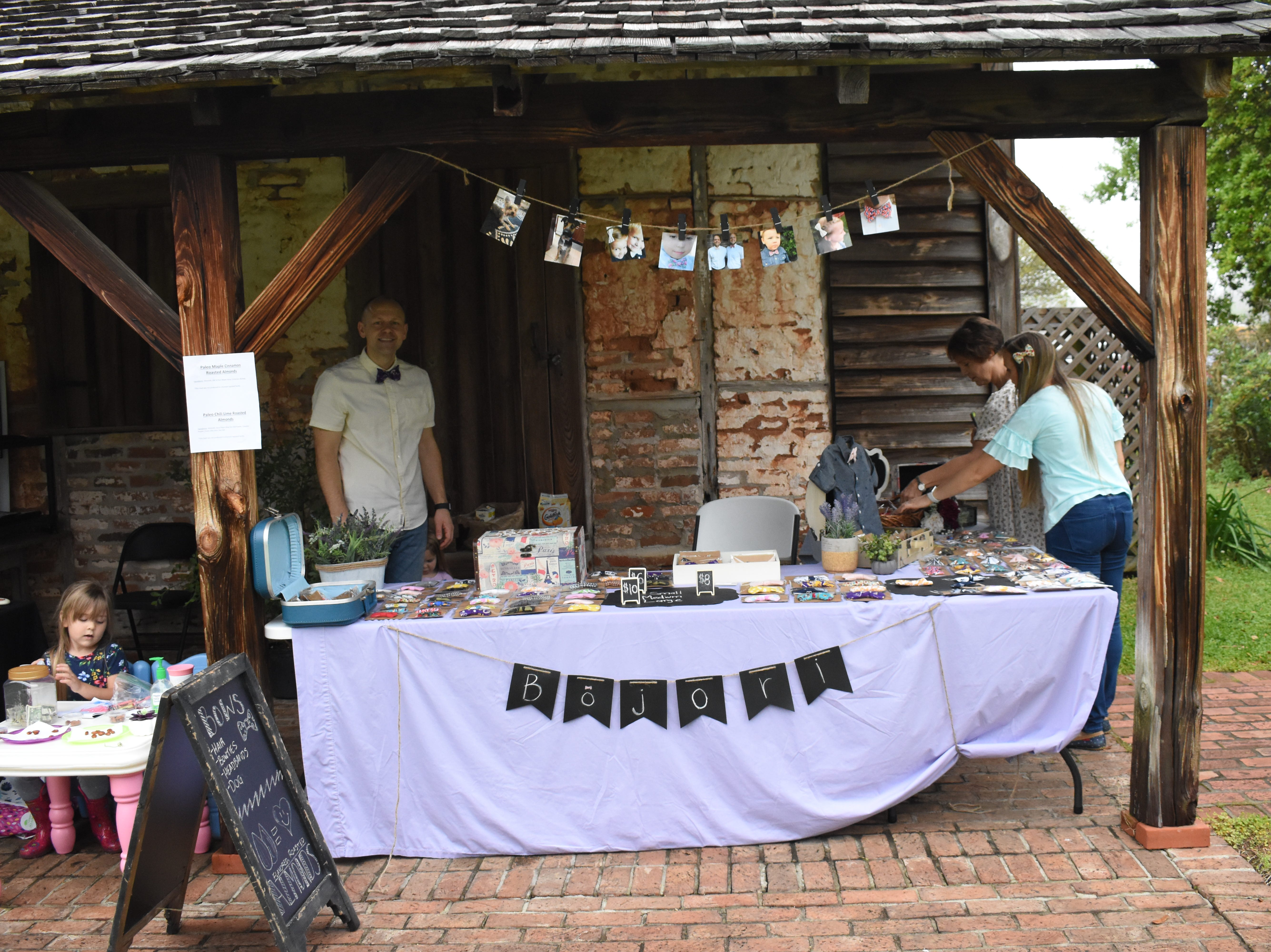 Kent Plantation House held their annual Spring Herb Day along with a yard sale, Saturday, April 6, 2019. Besides herbs and flowers, vendors were selling various handmade arts and crafts.