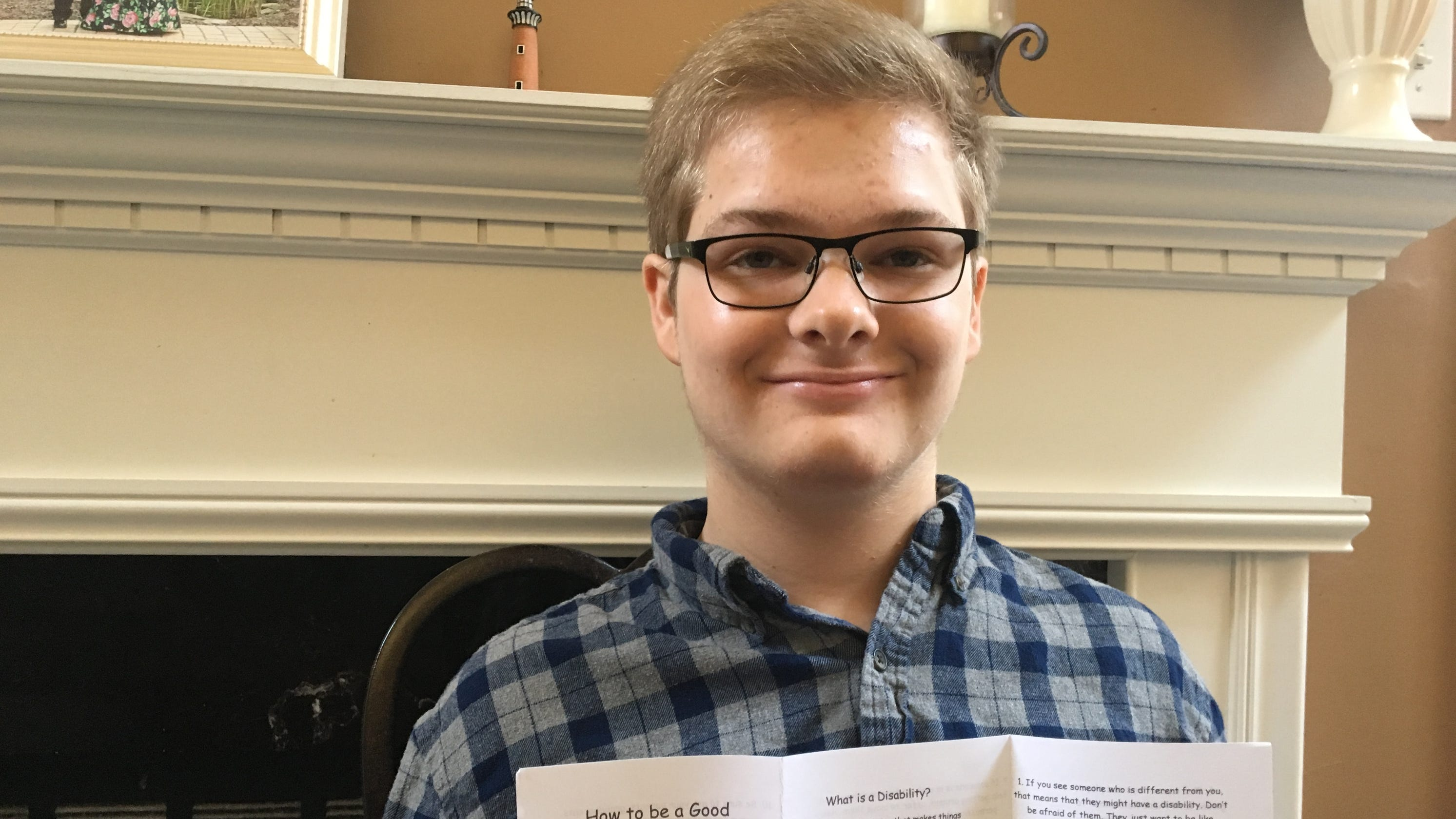 Autism Awareness Month: Teen with autism writes guide on