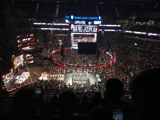 NXT TakeOver New York at the Barclays Center in Brooklyn was packed with nearly 16,000 fans.