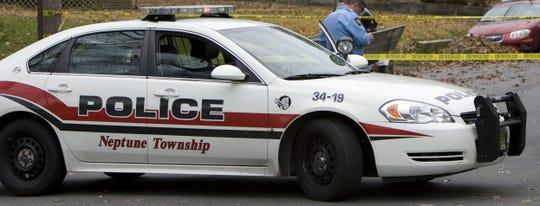 A Neptune Township police cruiser.
