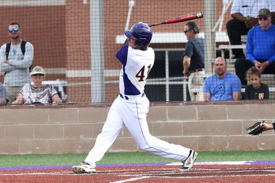 Wylie's Tyler Spears has been on an offensive tear over the last five District 4-5A games. Spears has 13 hits and 14 RBIs as the Bulldogs have moved into a first-place tie in the district standings.