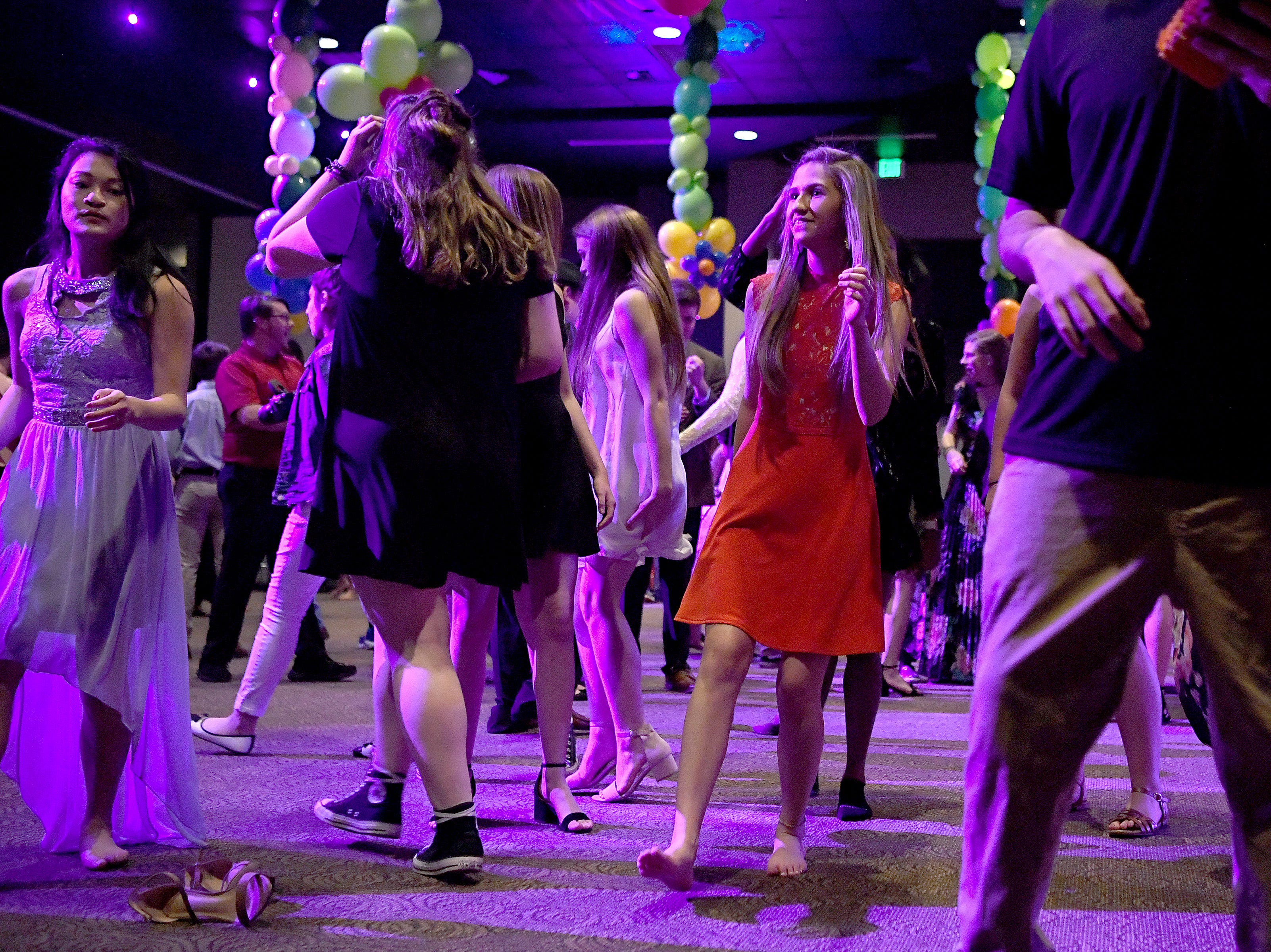 The Progressive Education Program held their prom at Biltmore Church on April 5, 2019. Many Roberson High School students escorted students from PEP to the prom themed Hawaiian Sunset.