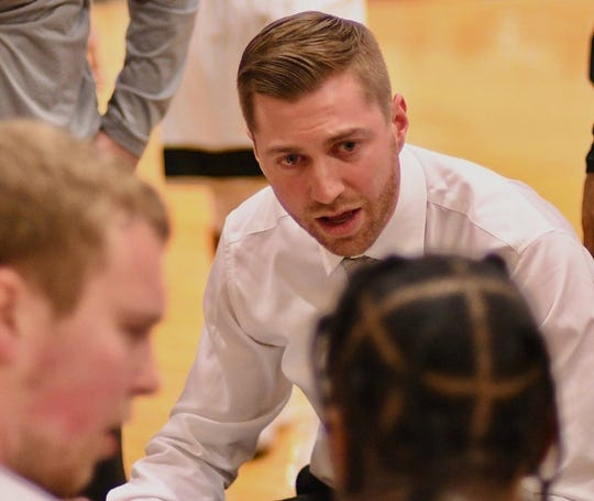 Bremerton High graduate Donald Rollman was recently hired as men's basketball coach at Peninsula College. Rollman served as interim coach during the 2018-19 season.