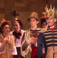 Gilbert & Sullivan's 'Mikado' has a one-night stand at
