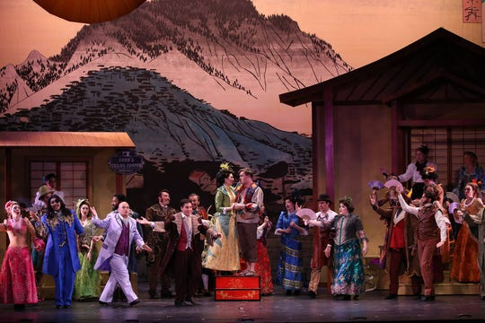 "The New York Gilbert & Sullivan Players' production of ""The Mikado."""
