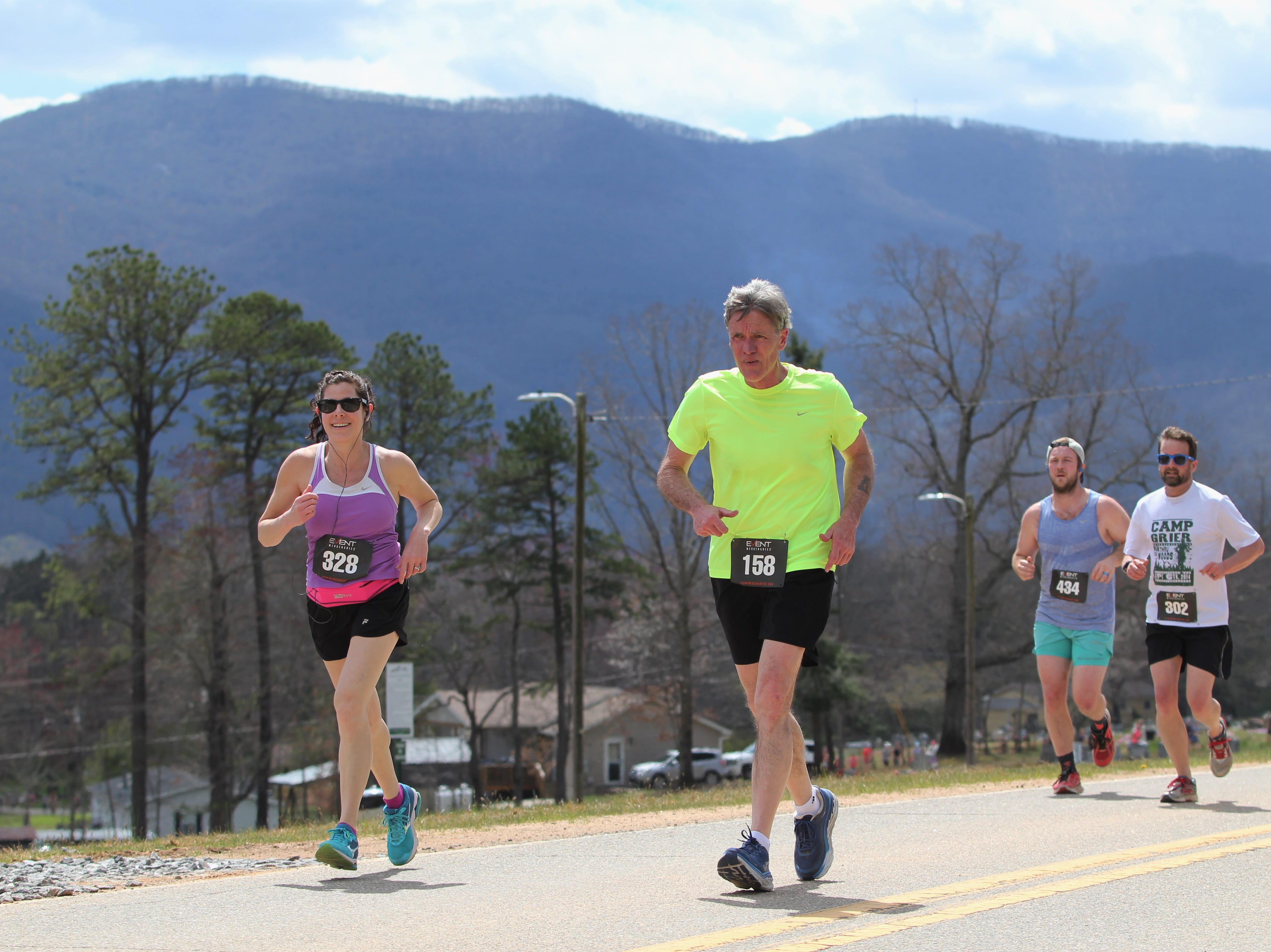 A record number of runners met at Pisgah Brewing Co. to run the 2019 Black Mountain Greenway Challenge 5K/10K. The event has been held for the past 12 years and benefits the greenway system in Black Mountain. This year over 325 runners competed in the races.