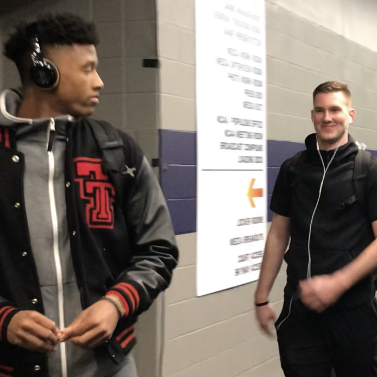 Texas Tech all business as Red Raiders arrive for Final Four matchup with Michigan State