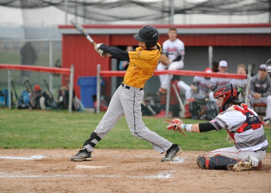 Paint Valley baseball swept Alexander on Saturday in a doubleheader, winning 10-0 and 8-2.