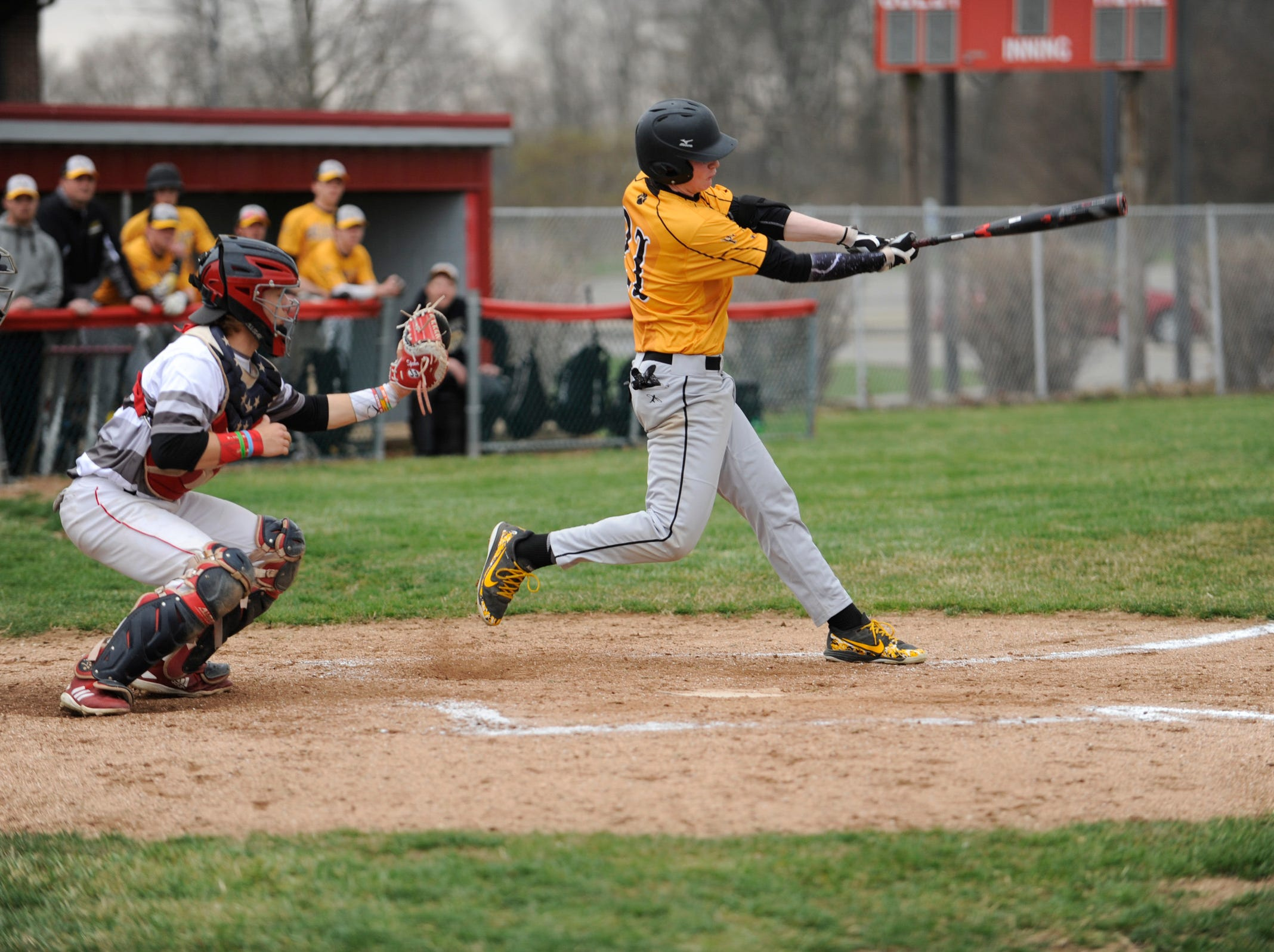 Westfall defeated Paint Valley 6-5 in eight innings Friday night in Williamsport, Ohio.