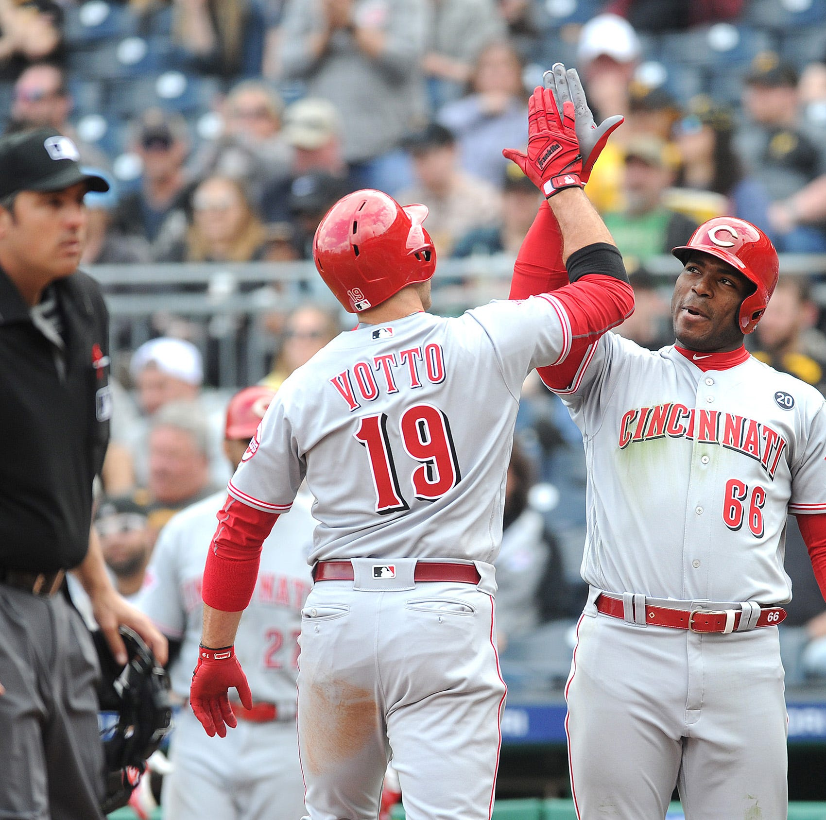 Yasiel Puig on Cincinnati Reds teammate Joey Votto: 'He's the best guy I've ever met'