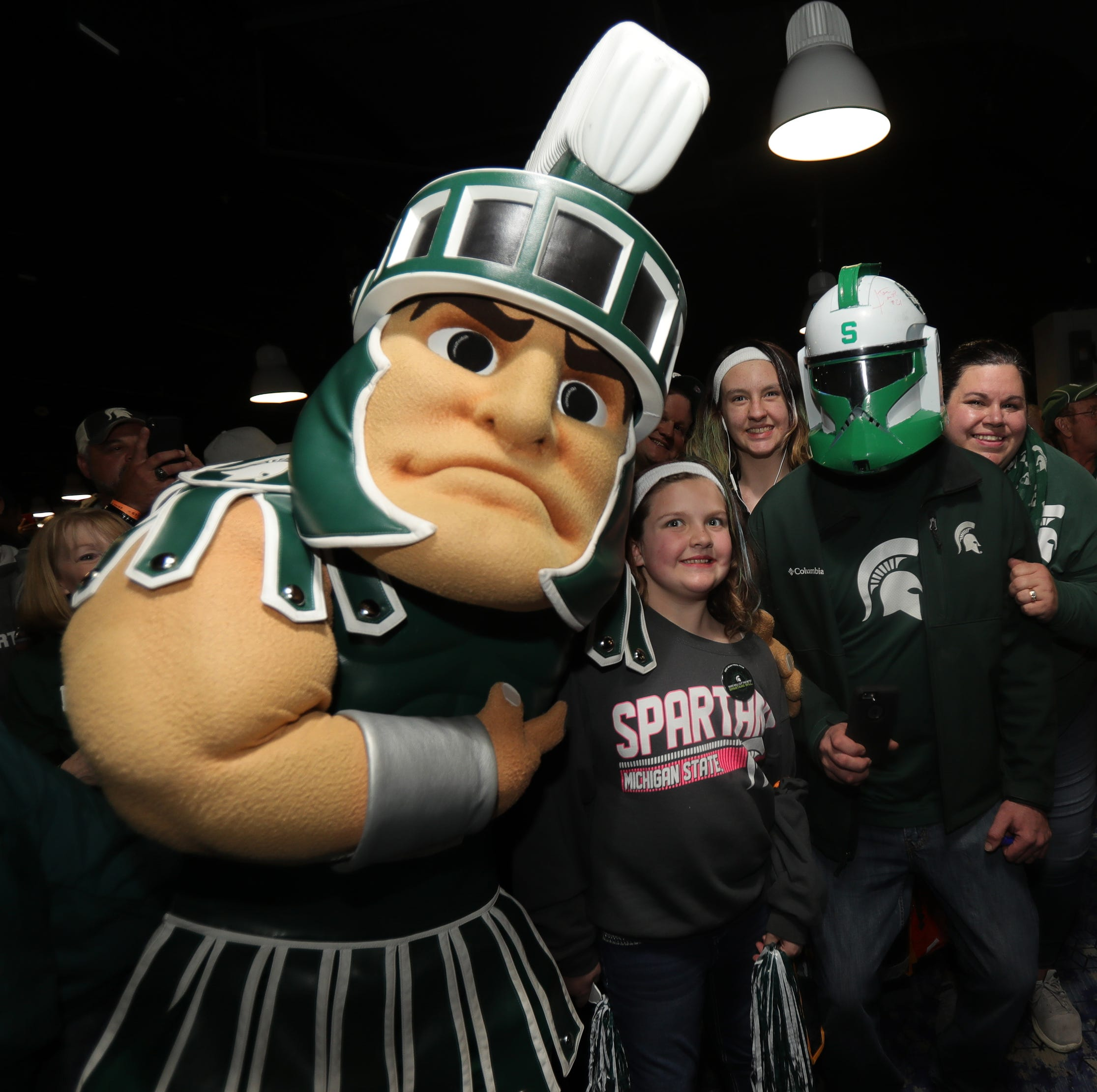 Michigan State basketball fans invade the Final Four: 'It's our year'