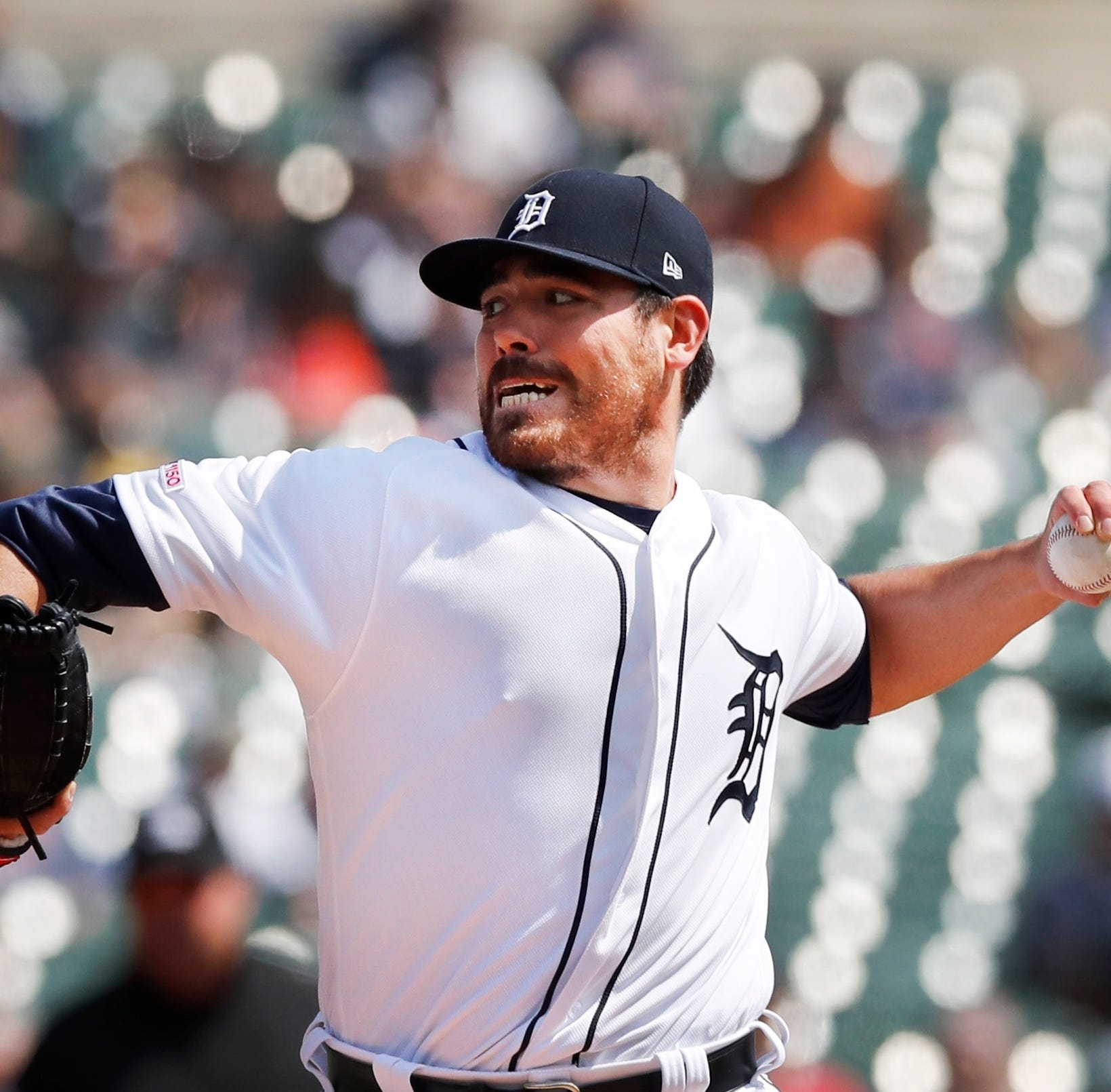 Detroit Tigers' Matt Moore placed on injured list with right knee sprain