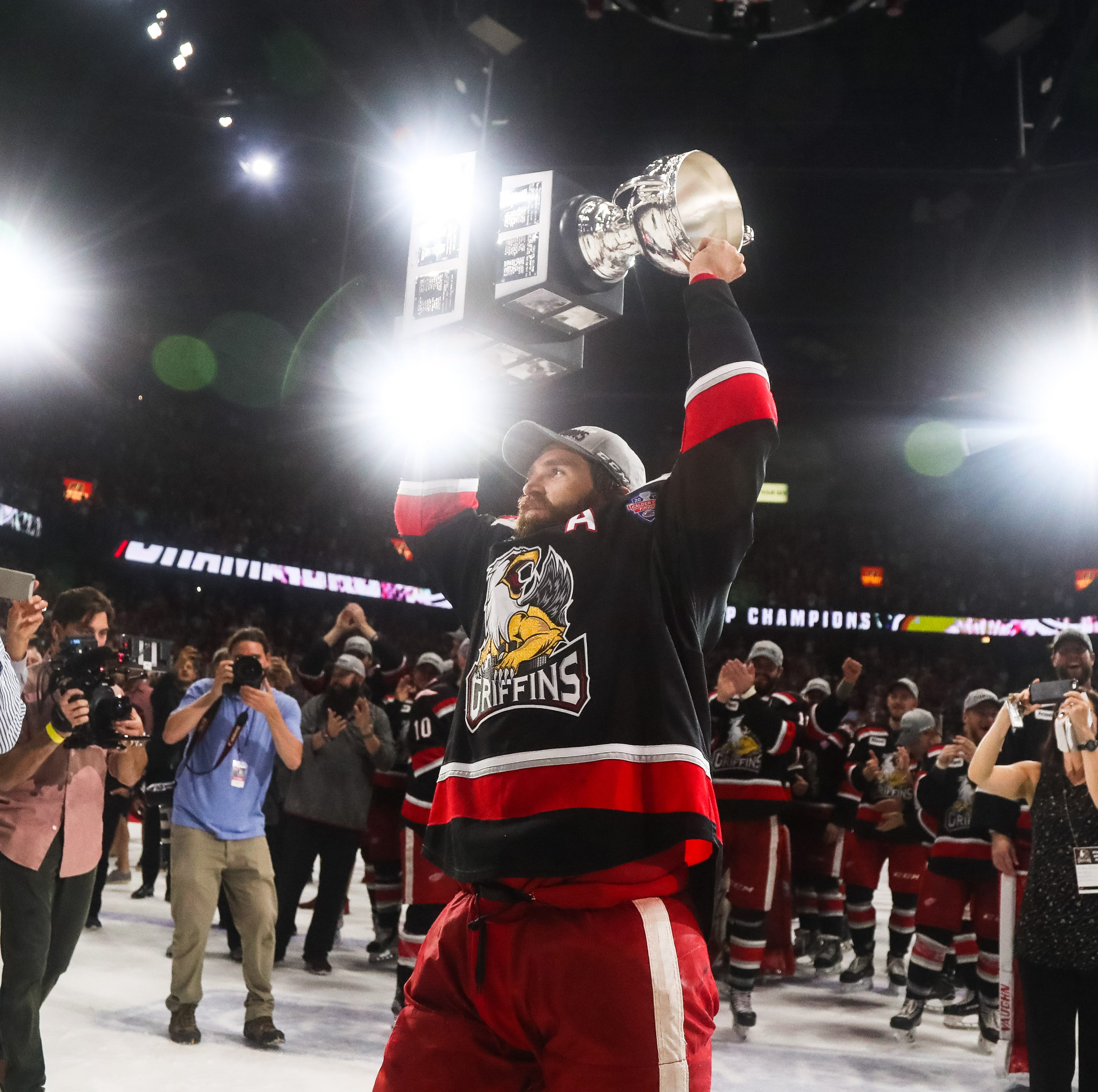 Griffins captain among oldest in AHL. Why the NHL has never called