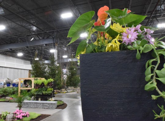 More than 20,000 square feet of landscaped gardens will be on display at this year's show.