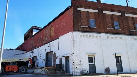 The old Nabisco bakery down will soon be a mixed-use building with a restaurant and bakery owned by Randy Hobson of Pangea Kitchen.