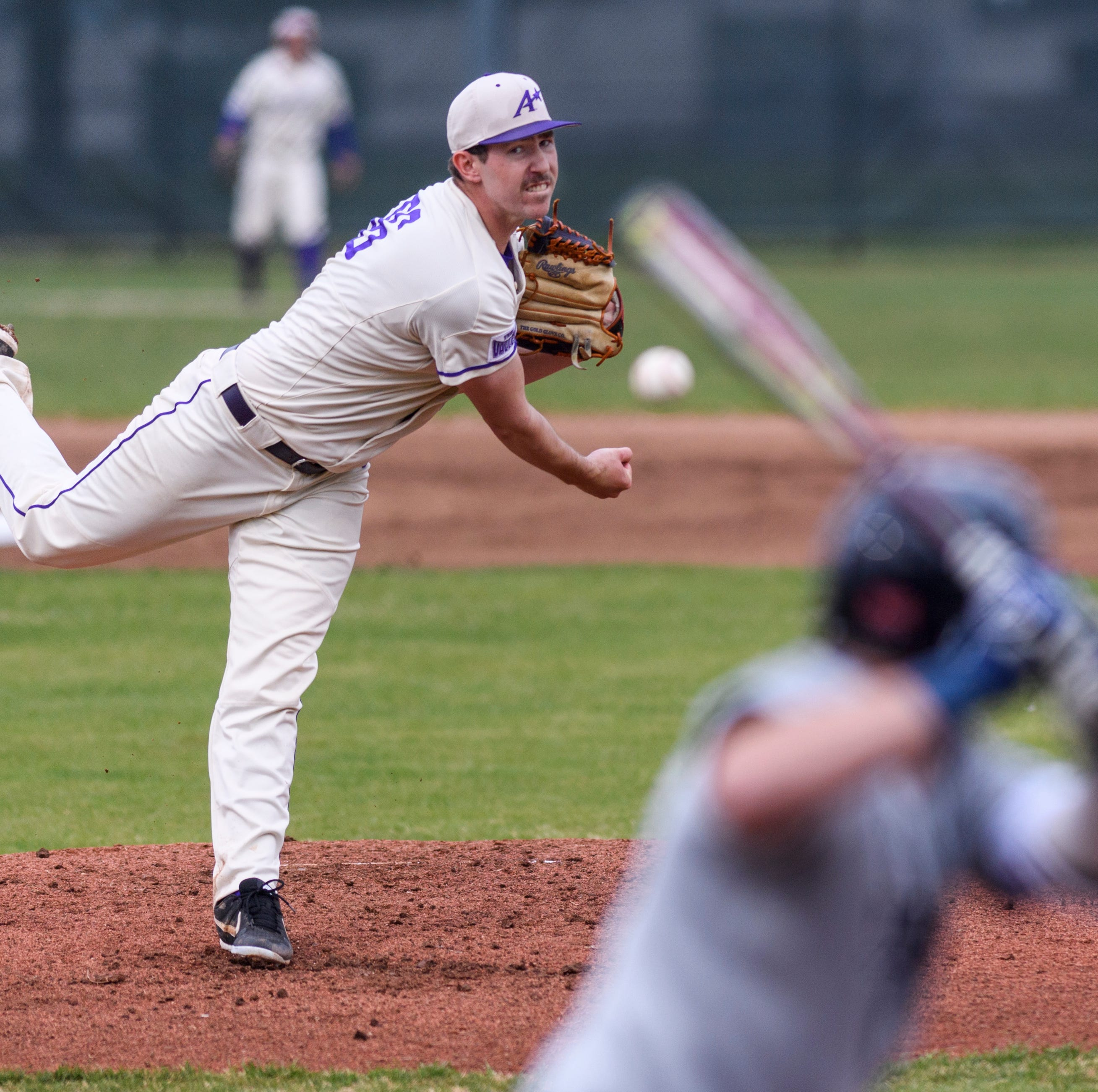 One reason for UE baseball's turnaround? Adam Lukas, whose fastball touches 99 mph