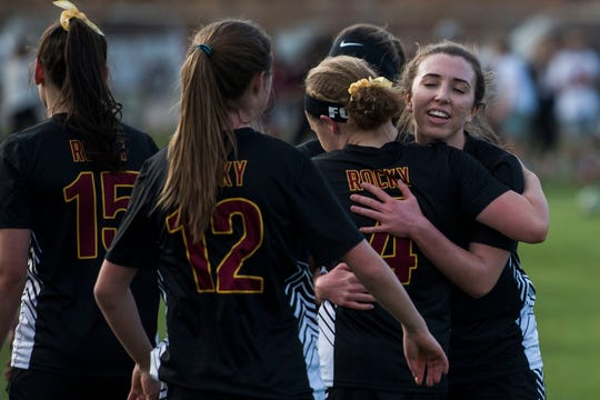 The Rocky Mountain girls soccer team is the No. 8 seed in the 5A playoffs, the highest-seeded local team in the tournament.