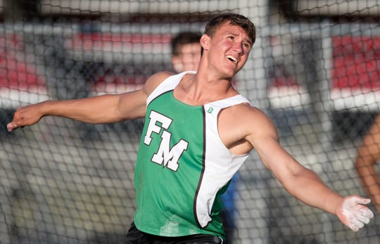 Fort Myers graduate Jacob Lemmon was named the Florida Gatorade Boys Track and Field Athlete of the Year following a senior outdoor season where he won state titles in the shot put and discus.
