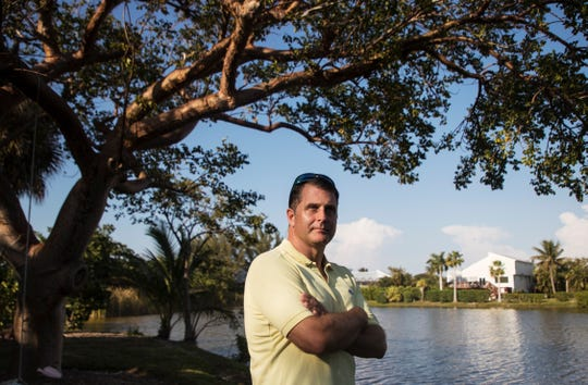 Sanibel Island resident Ralph Quillen stands for a portrait on Friday April, 5, 2019. He repeatedly contacted the Florida Department of Health during the red tide/cyanobacteria crisis and was not satisfied with the answers he got from them.