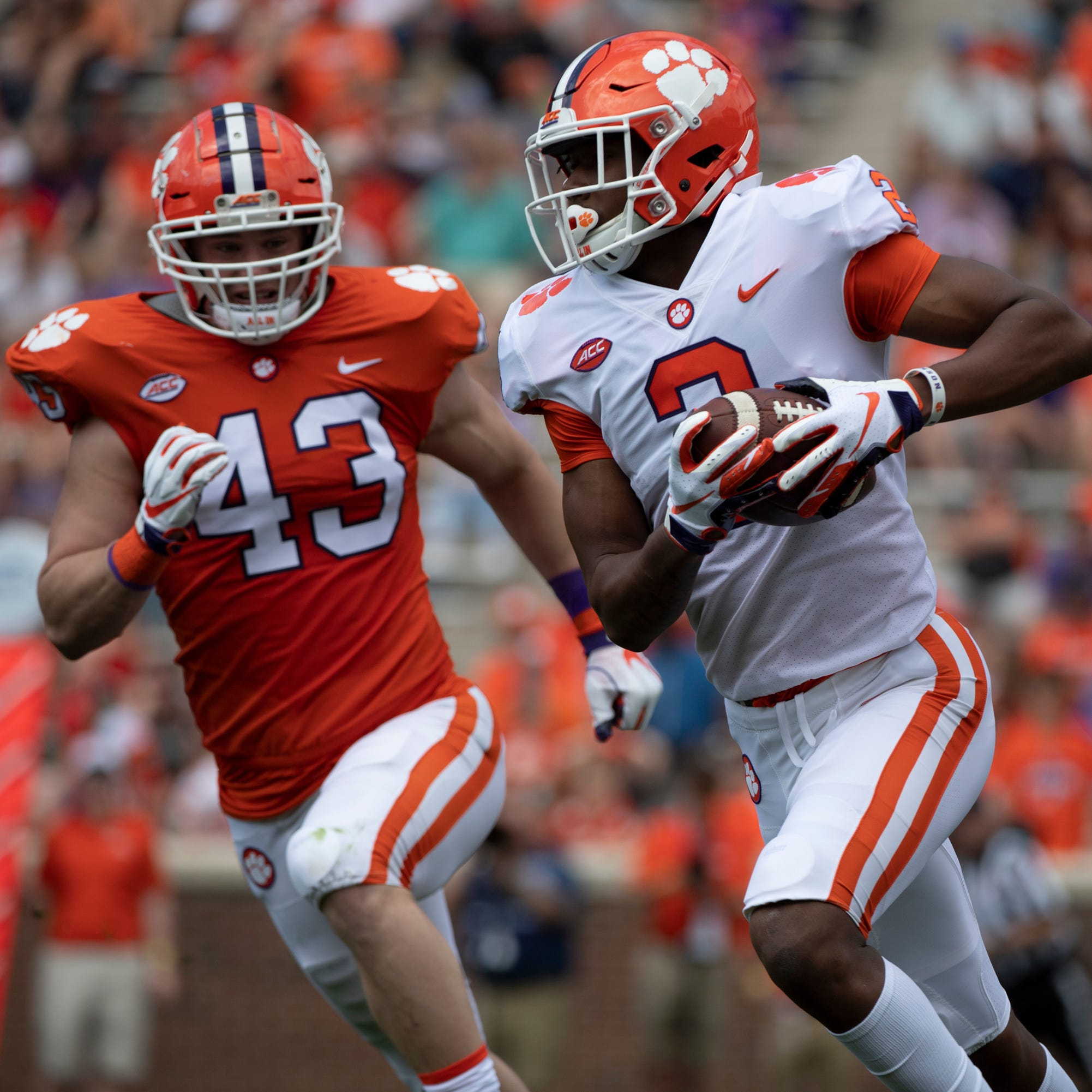 These 3 freshmen stood out during Clemson football's spring game