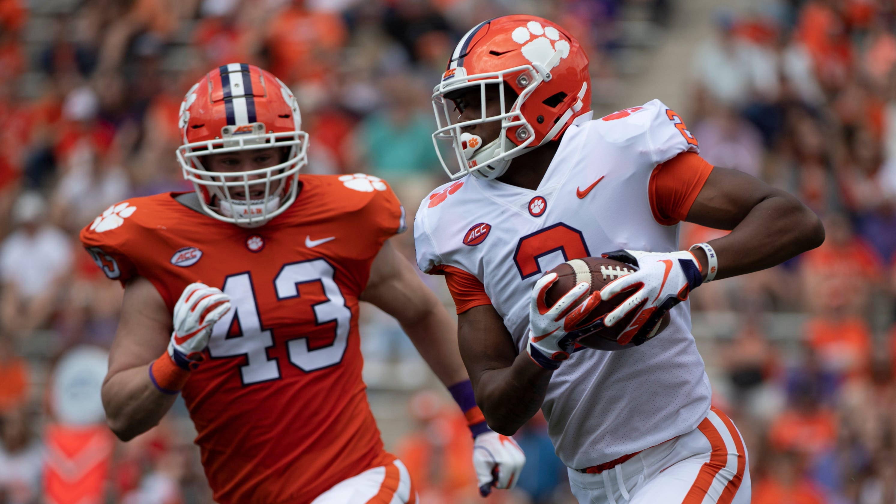 buy popular 1e544 3b281 These 3 freshmen stood out during Clemson football's spring game