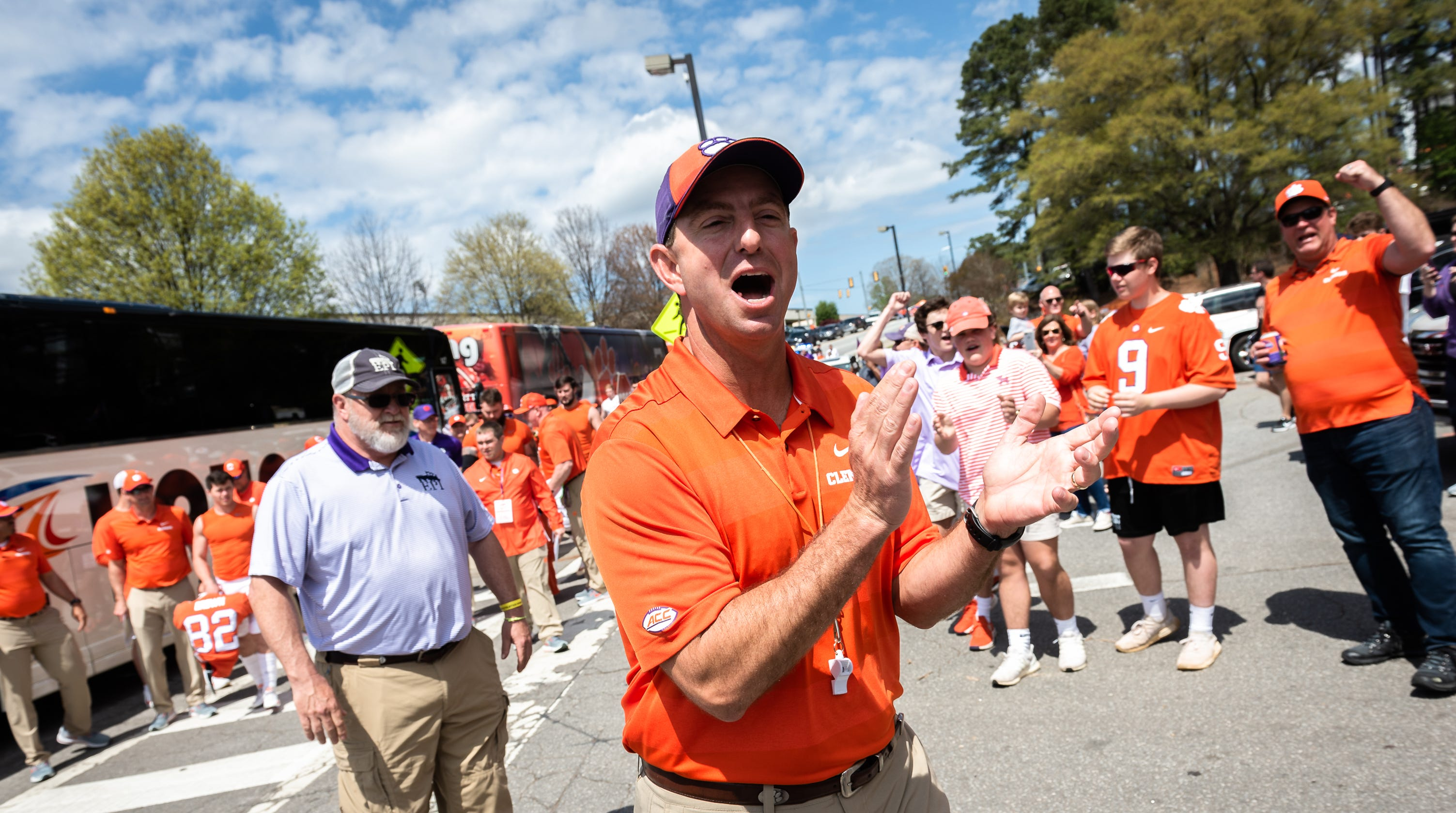Clemson football game at Syracuse set for prime time kickoff