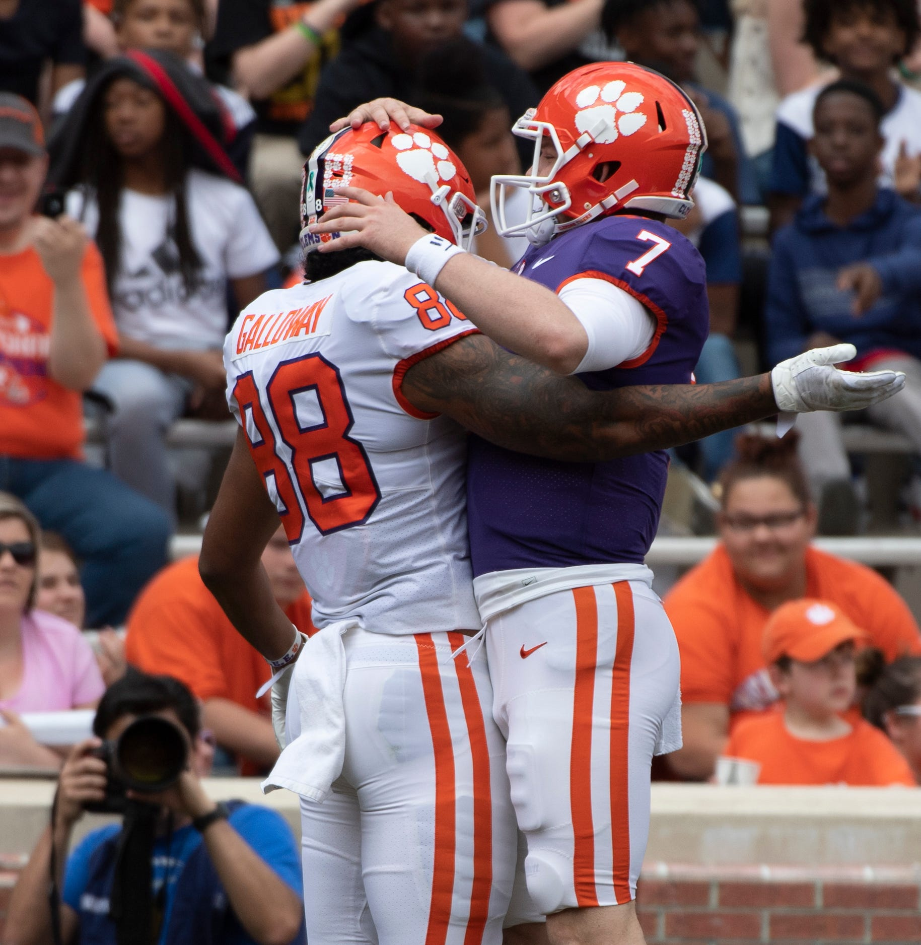 So who will replace Braden Galloway at tight end for Clemson football team?