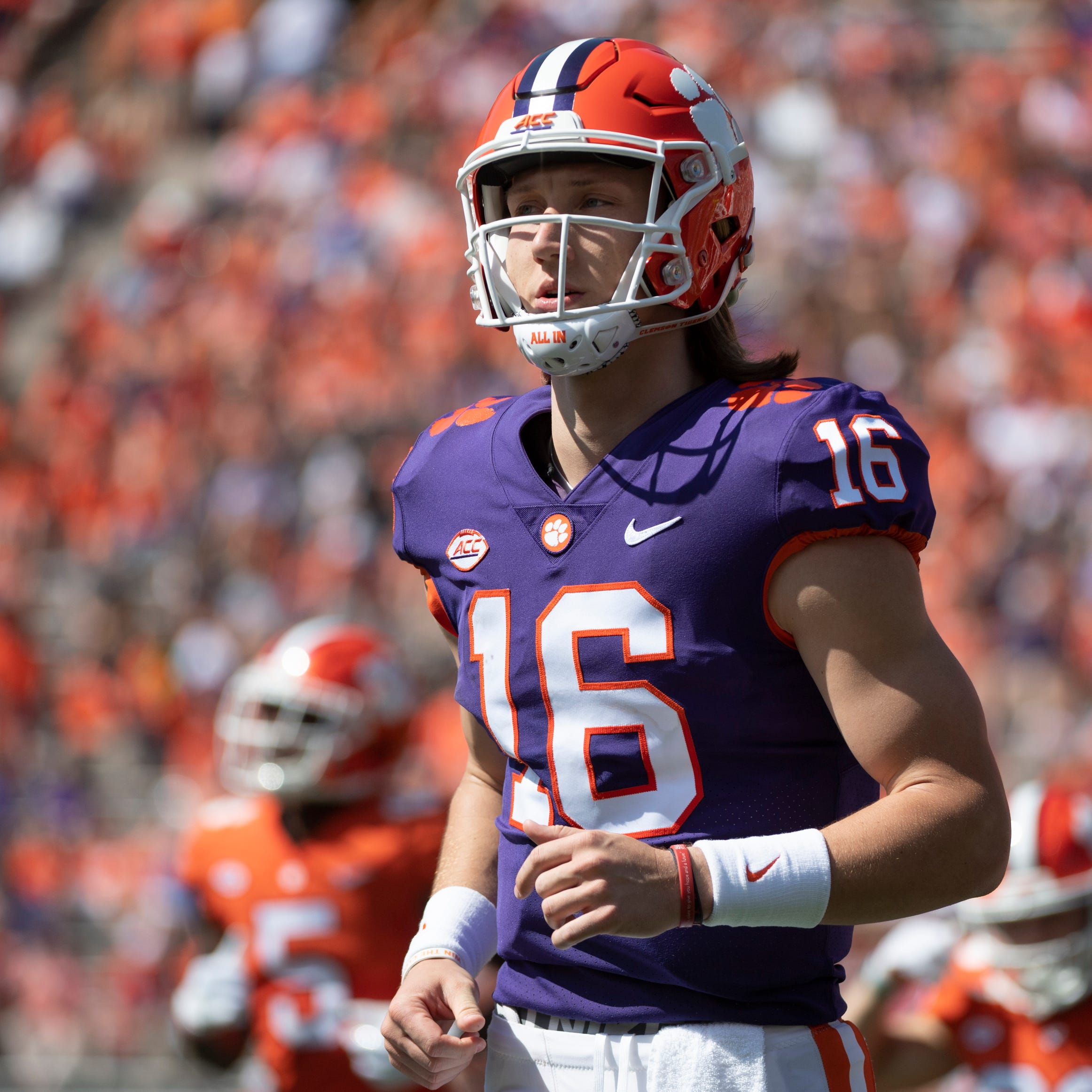 Clemson football Spring Game: QB Trevor Lawrence took 'step forward' this spring