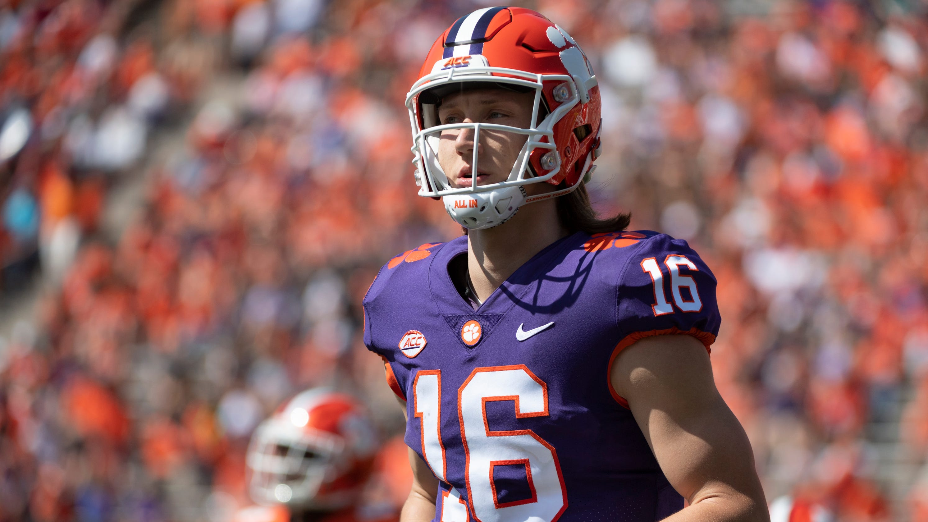 Lawrence Clemson forward step took Trevor QB football: