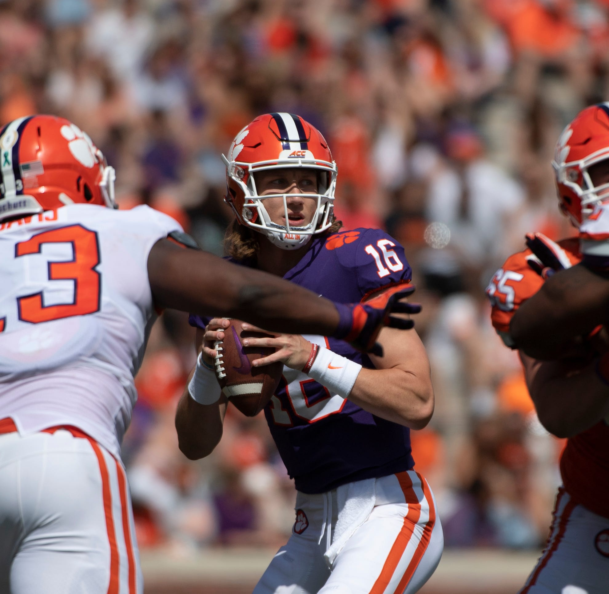 Clemson's Dabo Swinney does not want stars Lawrence, Etienne in protective bubble