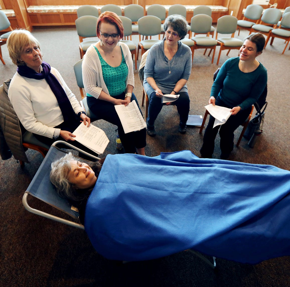Choir in Montana aims to soothe people nearing death
