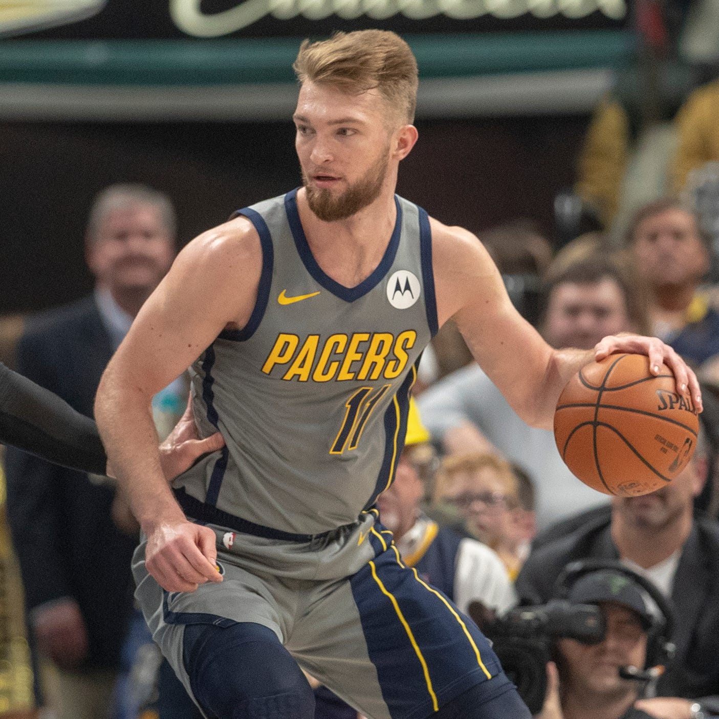 Indiana Pacers big man Domantas Sabonis is an NBA Awards finalist
