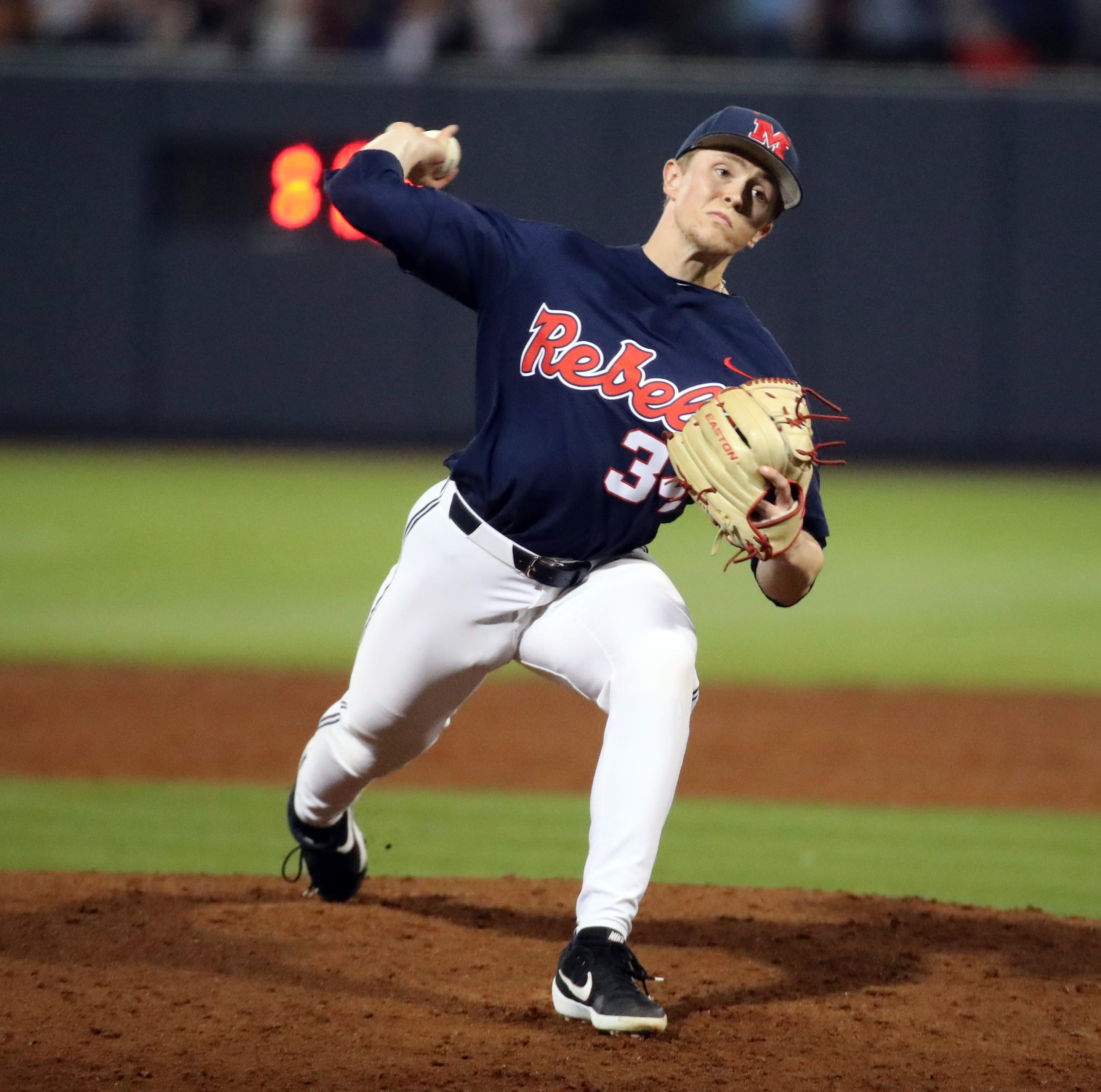 Ole Miss bats get hot, Tyler Myers impresses as Rebels take down No. 16 Florida 12-4