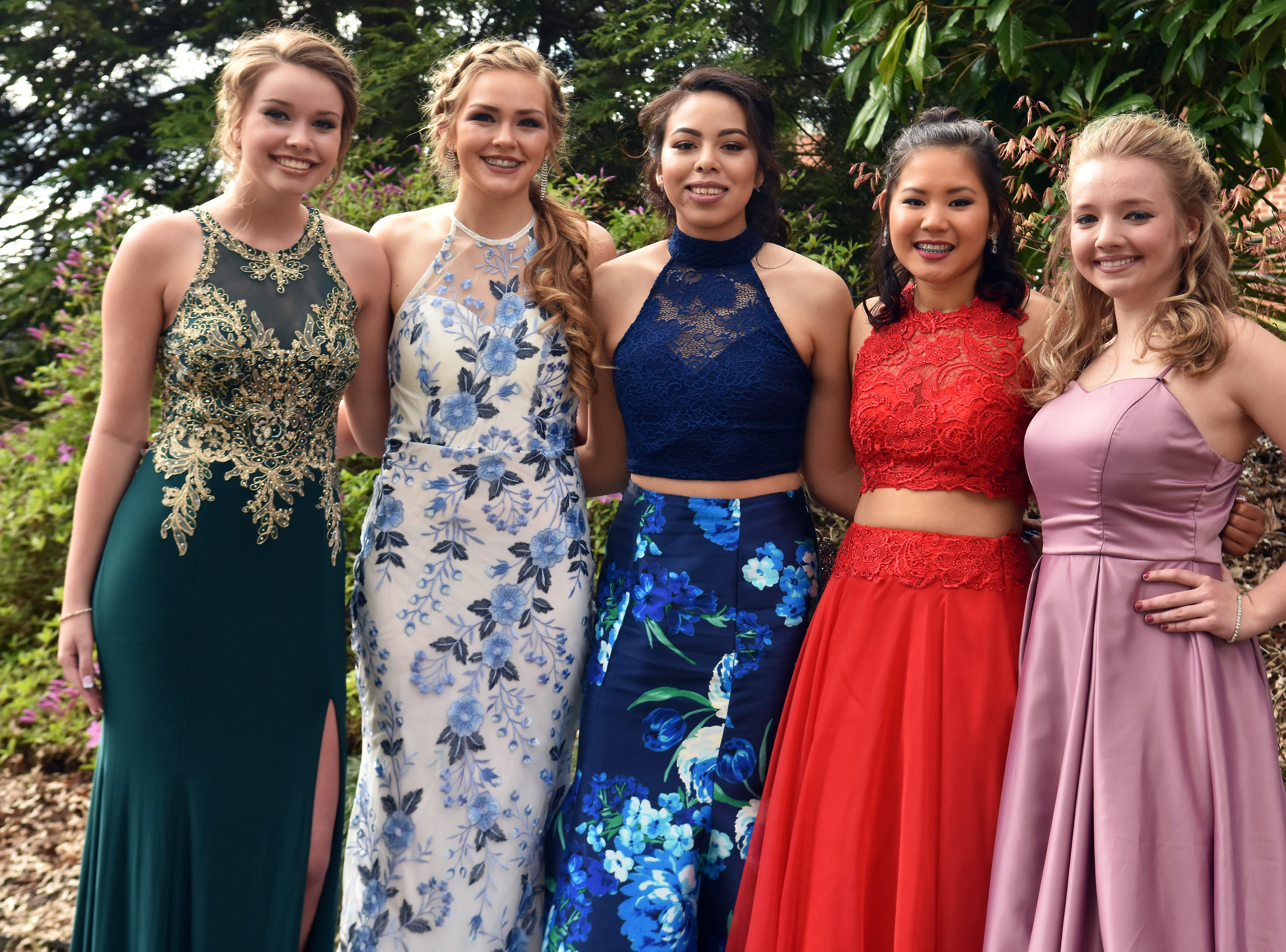 Scenes from Gibbs High School's prom held at The Mill & Mine in Knoxville, Tennessee on Friday, April 5, 2019.