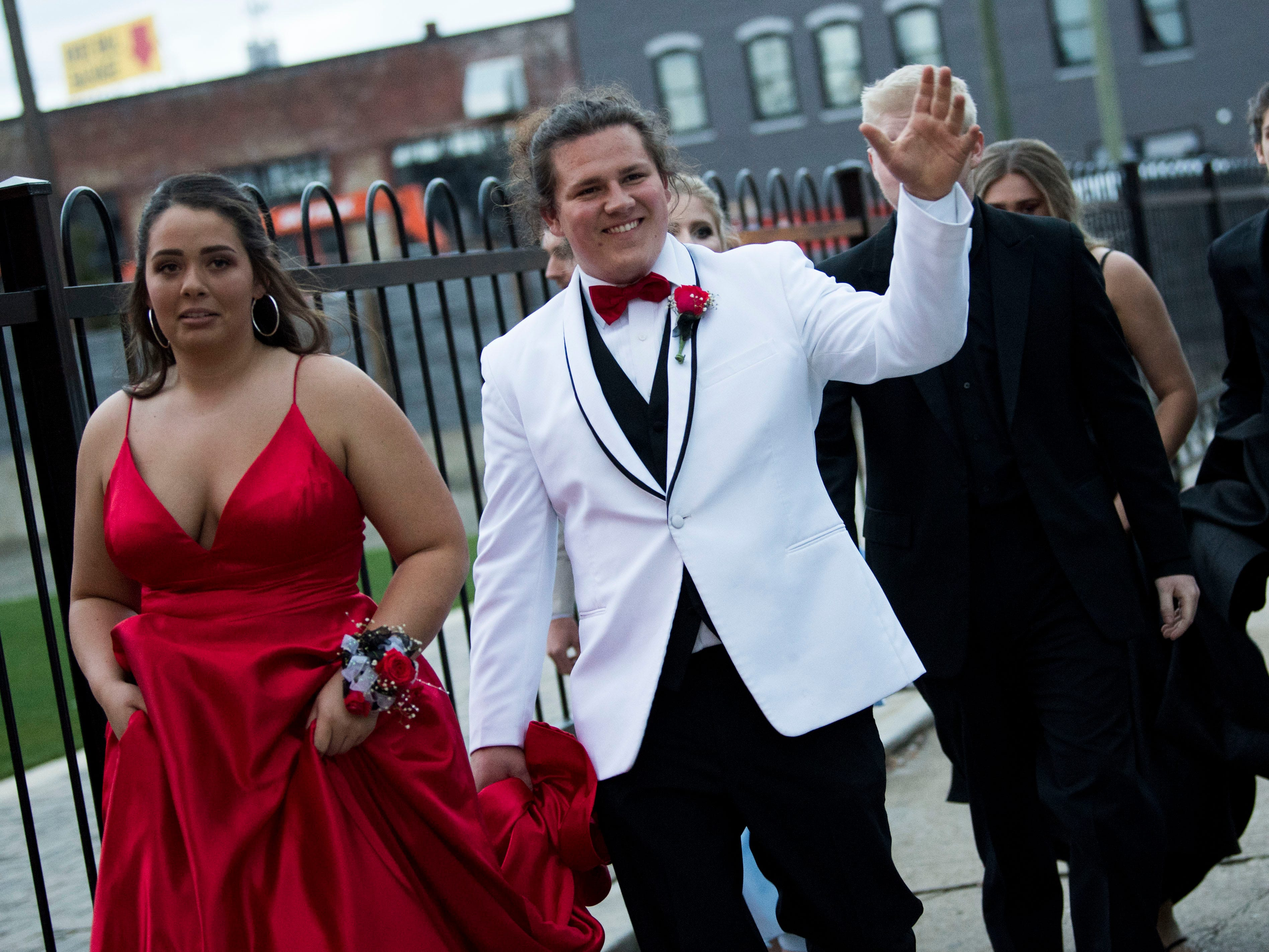 Scenes from Gibb High School's prom held at The Mill & Mine in Knoxville, Tennessee on Friday, April 5, 2019.