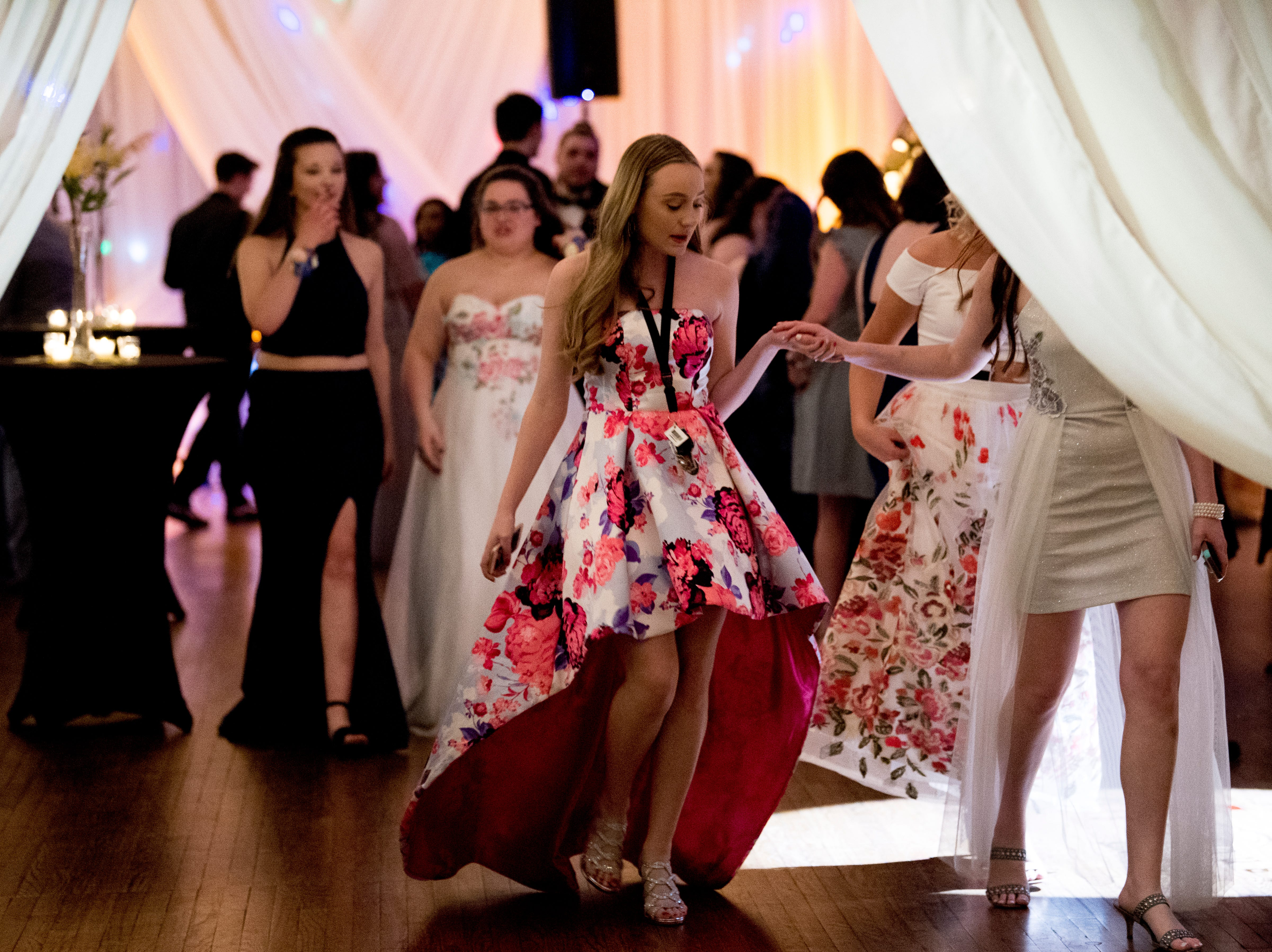Scenes from the Career Magnet Academy prom at The Lighthouse in Knoxville, Tennessee on Friday, April 5, 2019.