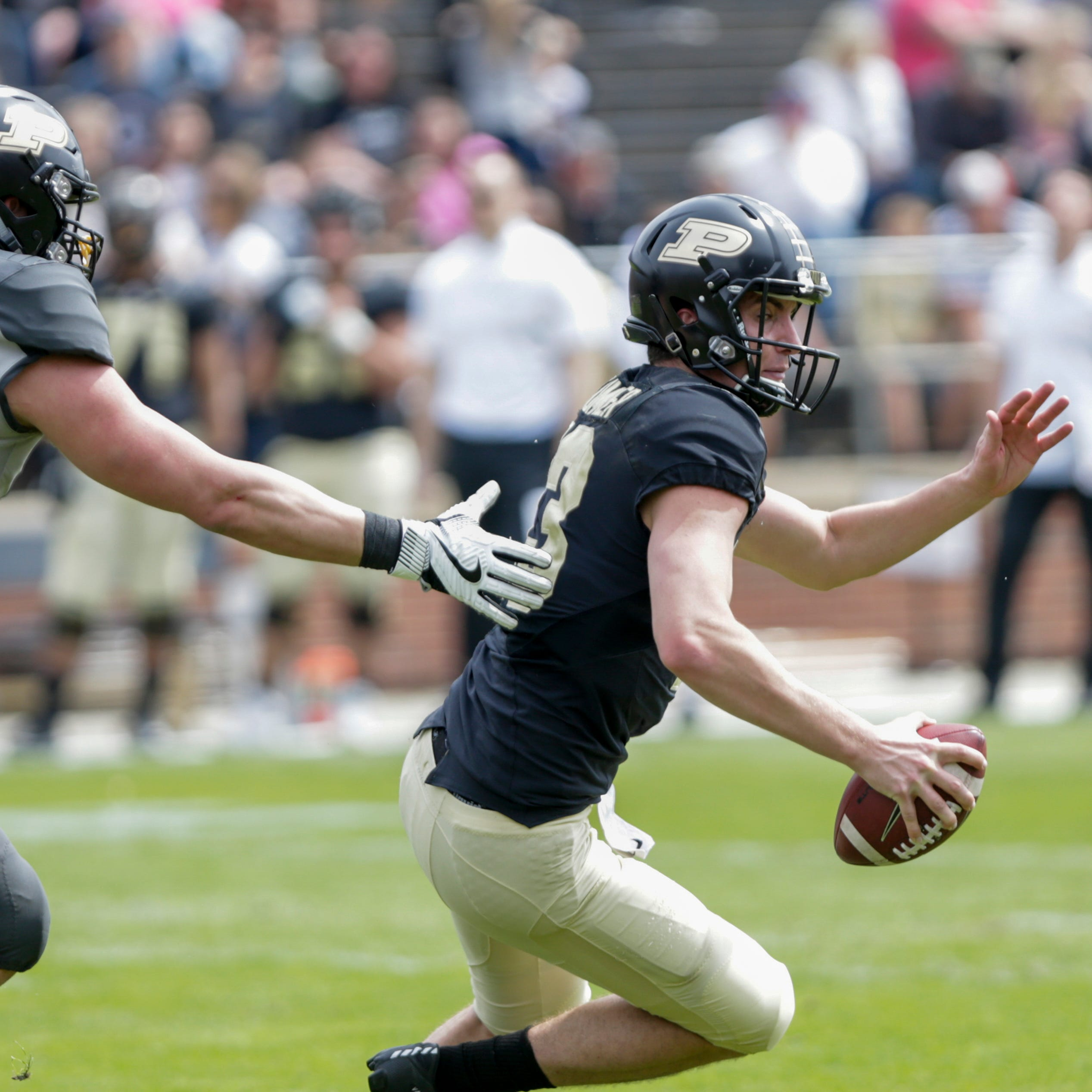 Offensive line, receivers headline post spring practice questions for Purdue football