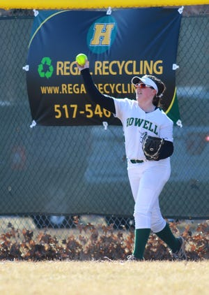 Maddie Gillett is back in Howell's softball lineup after missing 2018 with a knee injury.