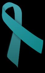 Teal ribbon